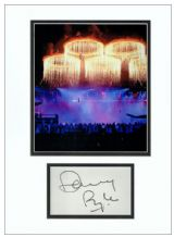 Danny Boyle Autograph Display - 2012 London Olympics